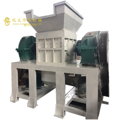 Jaw aluminum can crusher shred